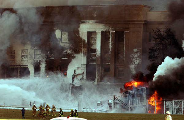 pentagon photo of 9/11 attack